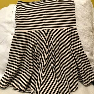 American Apparel Striped Skirt (M)